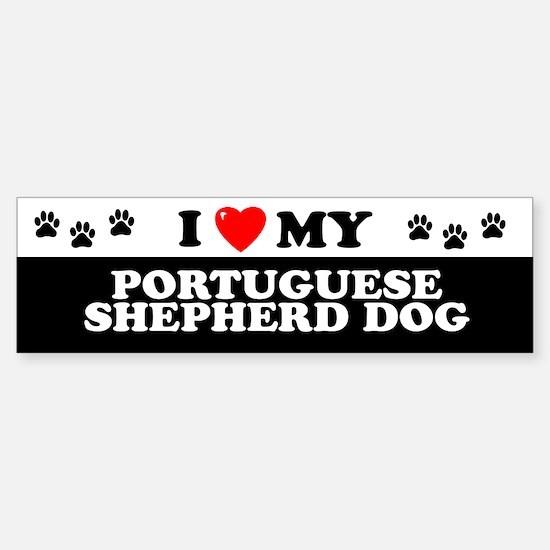 PORTUGUESE SHEPHERD DOG Bumper Bumper Bumper Sticker