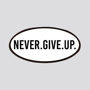 Never Give Up Patch