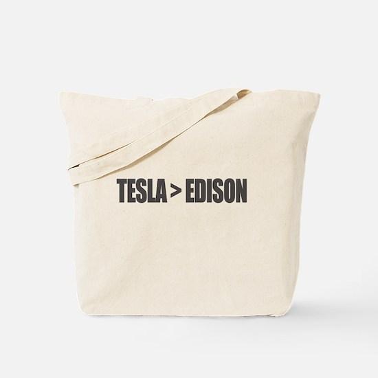 Tesla Edison Tote Bag