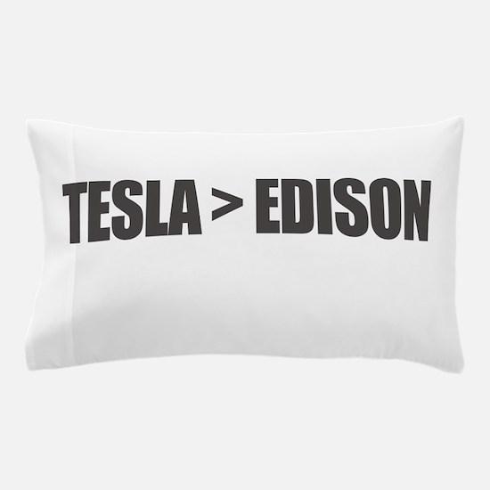 Tesla Edison Pillow Case