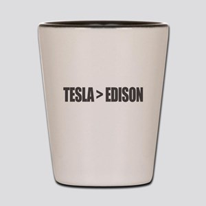 Tesla Edison Shot Glass