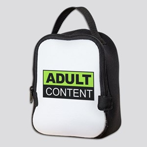 Adult Content Neoprene Lunch Bag