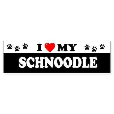 SCHNOODLE Bumper Sticker
