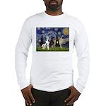 Starry / 4 Great Danes Long Sleeve T-Shirt