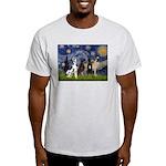 Starry / 4 Great Danes Light T-Shirt