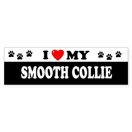 SMOOTH COLLIE Bumper Sticker