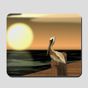 Sage Bay Pelican Mousepad
