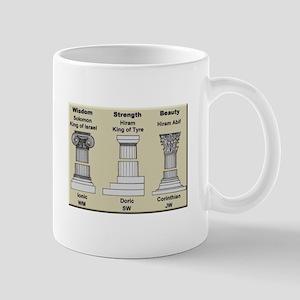 Masonic Pillars Mugs