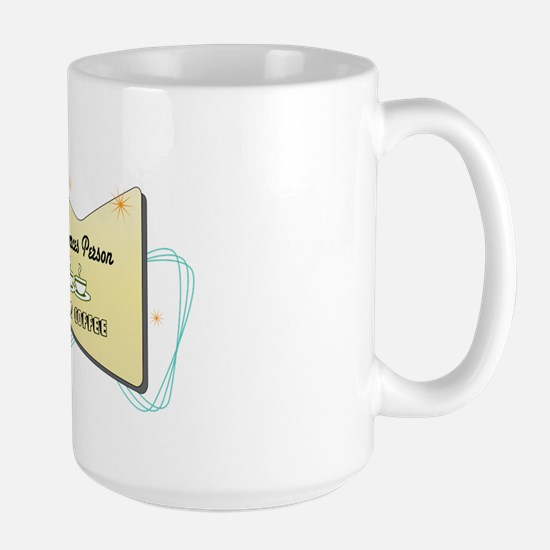 Instant Human Resources Person Large Mug