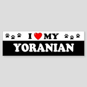 YORANIAN Bumper Sticker