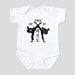 Tae Kwon Do III - Vintage Infant Bodysuit