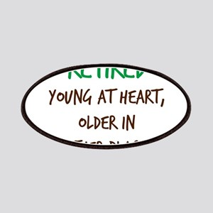 Retired, Young at Heart Patch