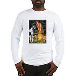 Fairies / Gr Dane (h) Long Sleeve T-Shirt