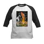 Fairies / Gr Dane (h) Kids Baseball Jersey