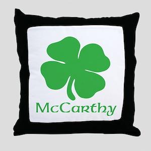 McCarthy (Shamrock) Throw Pillow