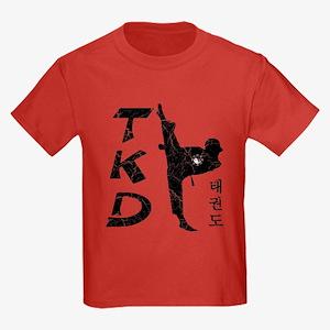 Tae Kwon Do II - Vintage Kids Dark T-Shirt