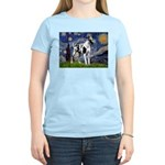 Starry / Gr Dane (h) Women's Light T-Shirt