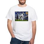 Starry / Gr Dane (h) White T-Shirt