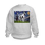 Starry / Gr Dane (h) Kids Sweatshirt
