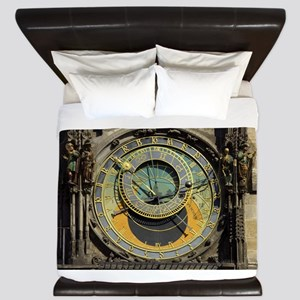 Prague Astronomical Clock Tower in Old King Duvet