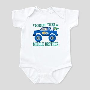 Middle Brother Infant Bodysuit