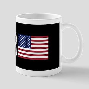 Logger: Logger & American Flag Mug