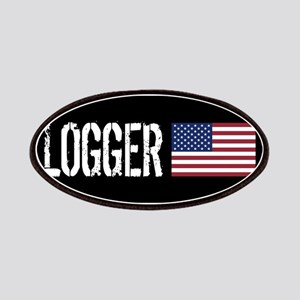 Logger: Logger & American Flag Patch
