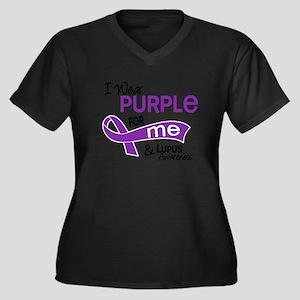 I Wear Purple 42 Lupus Plus Size T-Shirt