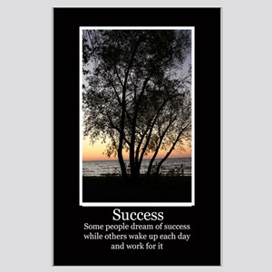 Work For Success Large Poster