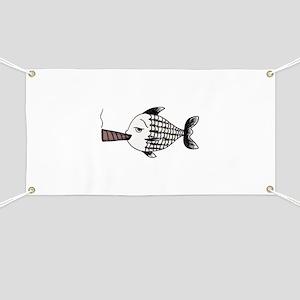 Smoking Fish Banner