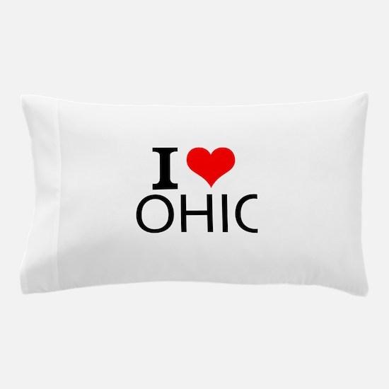 I Love Ohio Pillow Case