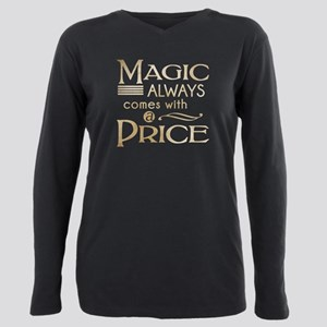 Magic Always Comes with a Price Plus Size Long Sle