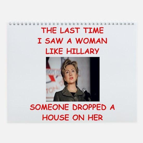 Hillary Clinton Wall Calendar