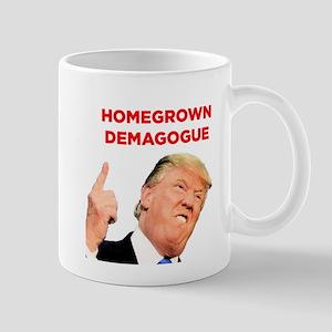 Donald Trump: Homegrown Demagogue Mugs