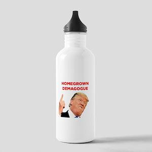 Donald Trump: Homegrown Demagogue Water Bottle