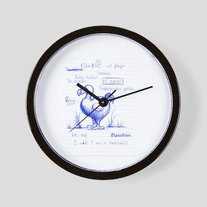Dodo broullion Wall Clock