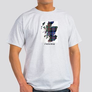 Map - Cochrane Light T-Shirt