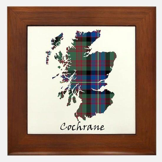 Map - Cochrane Framed Tile