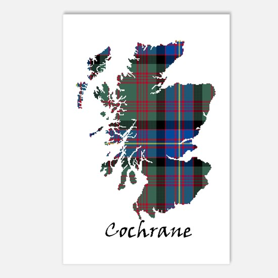 Map - Cochrane Postcards (Package of 8)