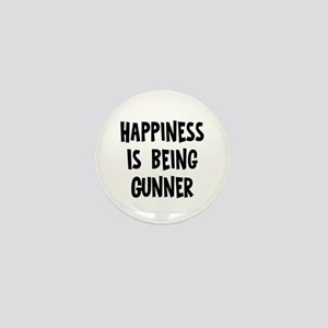 Happiness is being Gunner Mini Button