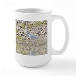 White Crane Items Large Mug