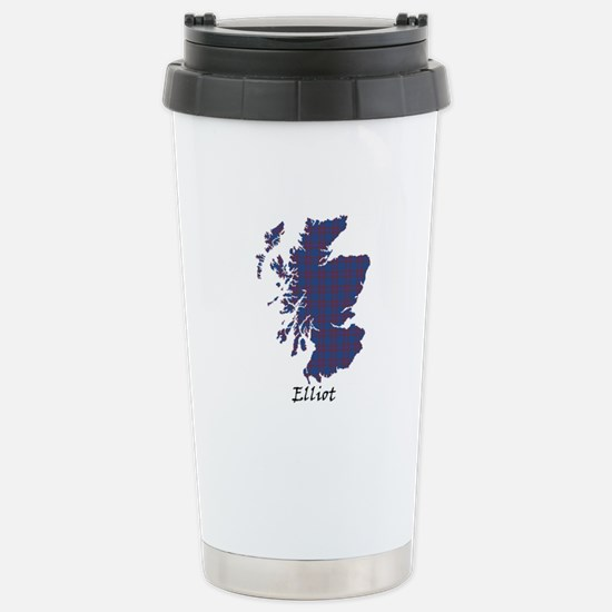 Map - Elliot Stainless Steel Travel Mug