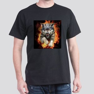 Fire Wolf Dark T-Shirt