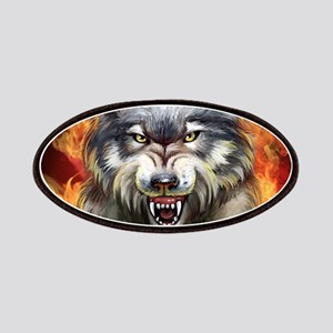 Fire Wolf Patch
