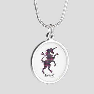 Unicorn - Cockburn Silver Round Necklace