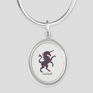 Unicorn - Cockburn Silver Oval Necklace