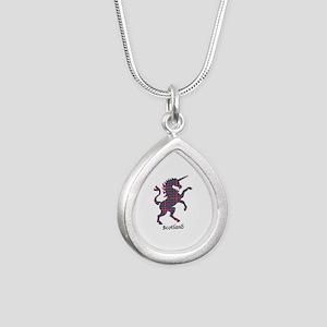 Unicorn - Cockburn Silver Teardrop Necklace