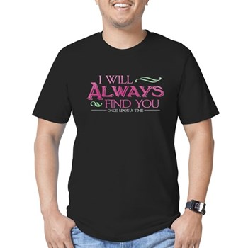 I Will Always Find You Men's Dark Fitted T-Shirt