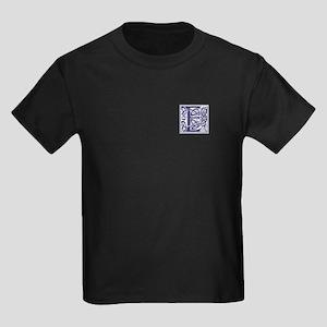 Monogram - Elliot Kids Dark T-Shirt