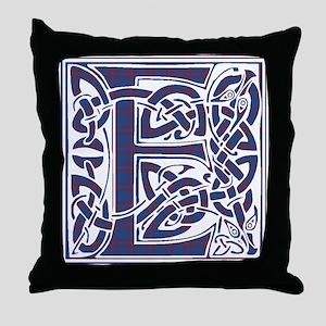 Monogram - Elliot Throw Pillow